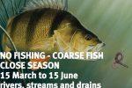 River fishing close season reminder