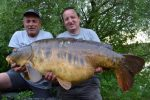 Biggest carp ever landed in a match
