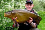 Monster tench landed in Norfolk