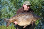 Mick banked venue record common carp
