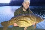 Carp fishing continues throughout winter thanks to mild weather