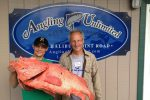 200-year-old fish caught off by Henry Liebman coast of Alaska