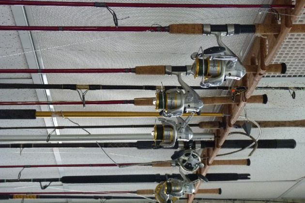 How to store fishing gear over winter fish around for Winter fishing gear